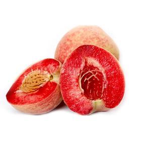 【现货发售】河南血桃 新鲜5斤朱砂红桃 非油桃冬桃水蜜桃 红肉当季孕妇 桃子