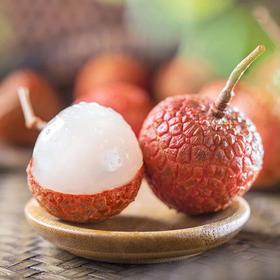 【高州白糖罂荔枝】甜度最高的荔枝 肉质爽脆 带有蜜味 99元5斤 含丰富的维生素C 和蛋白质 果皮薄 鲜红色 果肉乳白
