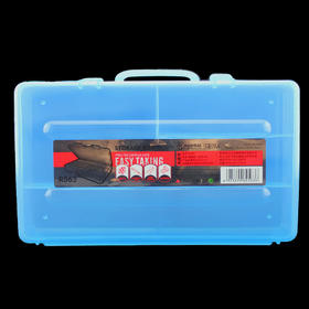 美甲工具箱整理箱包塑料加厚收纳盒小号化妆修甲专业基础护理套装