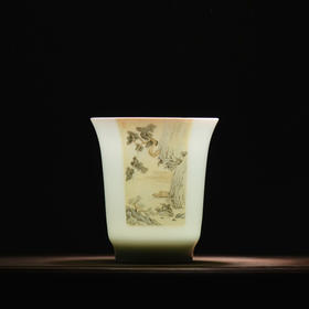 观味特别款 青年艺术家粉彩陶瓷杯