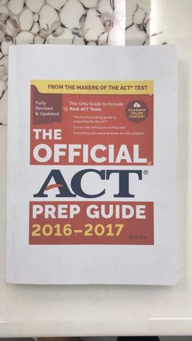 【书籍】THE OFFICIAL ACT PREP GUIDE 2016-2017 (下册)