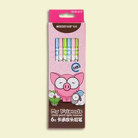 马可 卡通动物铅笔-6支盒装 HB 1004E-6CB