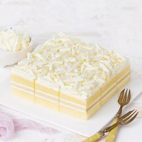 【幸福西饼】雪顶榴心蛋糕