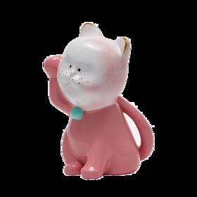 稀奇艺术 Mini招财猫雕塑摆件