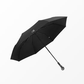 Missrain丨经典黑色骷髅头三折伞