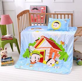 幼儿园卡通空调被柔软舒适幼儿园午睡被子儿童夏被