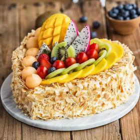【幸福西饼】全心全意蛋糕-2磅178元(十堰)