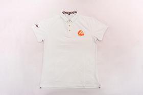 2018环塔拉力赛POLO衫男T恤  白色logo款