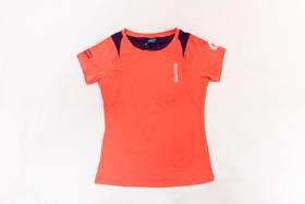 环塔拉力赛Discovery联名  女功能T恤速干透气  胭脂红