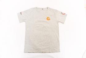 2018环塔拉力赛夏季新款灰色印花圆领T恤