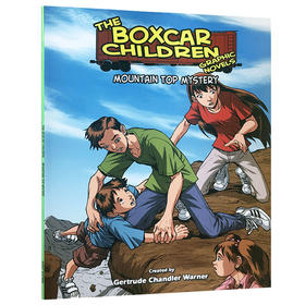 英文原版棚车少年The boxcar children第9本Mountain Top Mystery