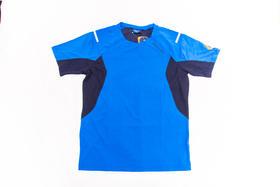 环塔拉力赛Discovery联名 男功能T恤速干透气  蓝色