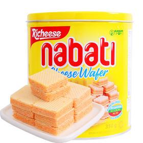 纳宝帝奶酪味威化饼干350g/罐