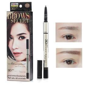 「3D立体染眉膏」泰国mistine 3D立体眉笔+眉粉+染眉膏三合一 防水不晕染