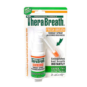「口臭克星」美国TheraBreath凯斯博士口腔喷雾杀菌去口臭天然植物孕妇可用