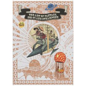 19世纪幻想科幻蒸汽朋克 文学经典科幻绘本插画集