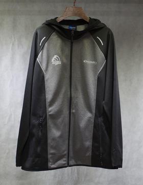 环塔拉力赛Discovery联名 男款抓绒秋冬保暖   黑灰色