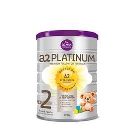【新西兰直邮】a2 白金系列婴幼儿奶粉2段 6罐装