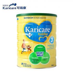 【新西兰直邮】Karicare 可瑞康 3段婴儿山羊奶粉一箱(6罐900g装)