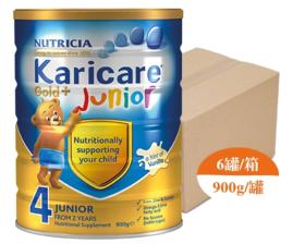 【新西兰直邮】Karicare 可瑞康金装 4段婴儿配方牛奶粉(6罐900g装)