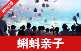 蝌蚪包月!限售&我39.9元起拼海立方海洋公园1大1小通票,带孩子探索海洋世界,贴现大回馈