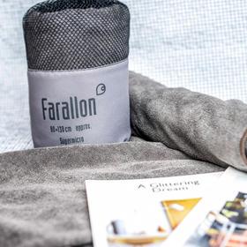 Farallon多功能毛巾运动健身户外速干毯子全棉便携吸水浴巾空调毯