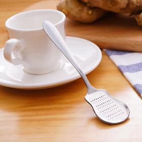 生姜姜茶勺不锈钢磨姜器研磨姜泥姜汁姜蓉厨房小工具婴儿辅食磨泥