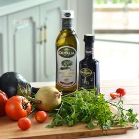 【真】意大利原瓶原装进口  奥尼Olitalia 特级初榨橄榄油 巴萨米可醋套组  地中海饮食标配