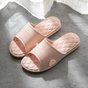 【防臭の拖鞋】攸朴 EVA防臭防滑拖鞋 菱格设计 按摩减压气垫