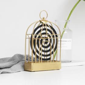 【有温度的家】复古铁艺蚊香盒 家用檀香架