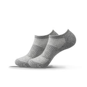 户外运动袜 马拉松长跑袜 越野徒步登山袜子超长期防臭(船袜版)