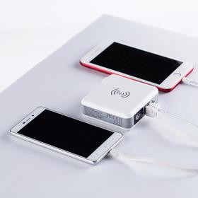 【充电宝+座充+无线充3合1充电宝】Koo-Power电源器 智能充电器+多口充电宝+无线充 QI认证 三口输出 6700MAH