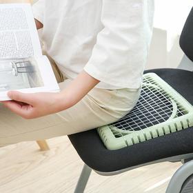 网格散热坐垫办公室椅垫学生凉垫麻将电脑椅凳子透气垫子椅子座垫