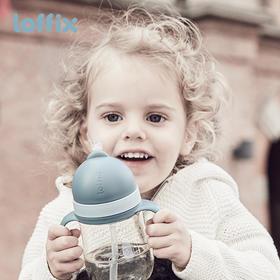 loffix睿菲儿童水壶ppsu吸管杯宝宝水杯家用防漏幼儿园防摔学饮杯