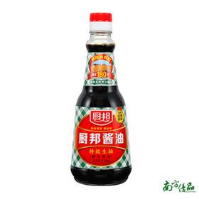厨邦酱油410ML【拍前请看温馨提示】