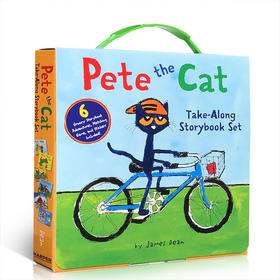 英文原版绘本 皮特猫6本套装Pete the Cat Take-Along Storybook Set 6 groovy storybbok Adventures 儿童启蒙英语阅读图画故事书