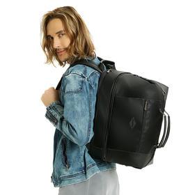 """【 可以背的""""旅行箱""""  可拆卸拼接】ZHIFU多功能魔术包1708  通勤包+短途包++旅行包"""