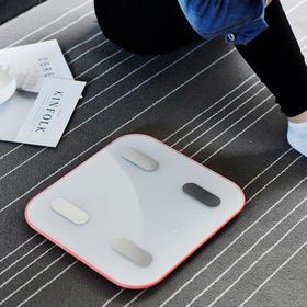 【himama智能体脂秤】减肥电子体重秤|家用精准测脂肪|人体测量仪电子称|抱婴模式