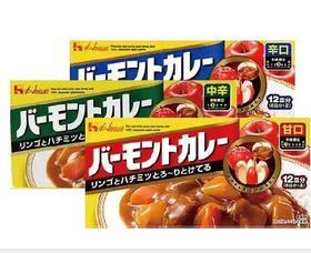 进口咖喱福袋(甜味230g,微辣230g,辣味230g)
