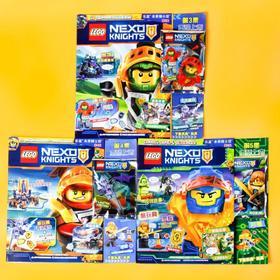 【限量人仔】乐高 LEGO 未来骑士团 杂志套装,3拼砌包、3限量人仔,还赠3本杂志!