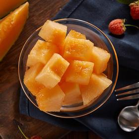 新鲜采摘哈密瓜 | 新疆火焰山蜜瓜 | 有机肥种植无农残 | 脆香肉多甜爽多汁