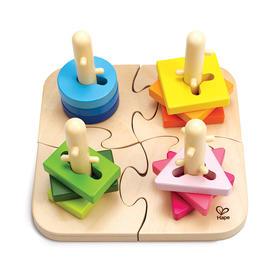 Hape 智力几何分类拼图