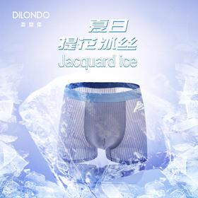 迪兰多 【上新】超级透气冰丝提花冰感体验内裤 22908746