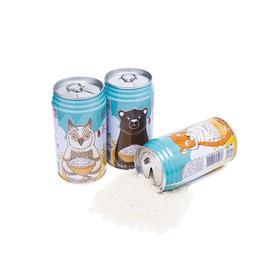 【9.9拼团】丨龙米·彩色生活⑦小动物款丨纯正五常稻花香2号丨300g×2罐装