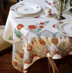 加厚棉麻混纺 桌布 家宴轰趴下午茶 波西米亚风 满包邮