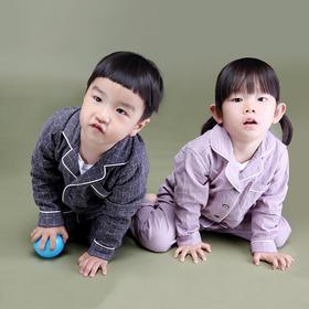 全棉双层纱基础款 儿童套装