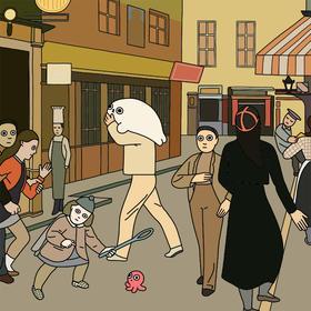 【王XX签名限量版画】the Street