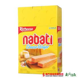 印尼进口丽芝士nabati纳宝帝奶酪威化饼干 200g/盒 【拍前请看温馨提示】