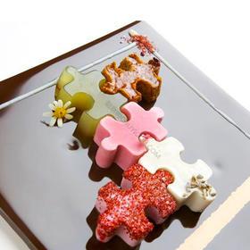 食品艺术模具A1 几何形创意拼图多味模具,GM食品艺术模具