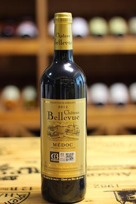 【原装原瓶进口】美景庄园干红葡萄酒,2012年,法国波尔多 梅多克中级酒庄